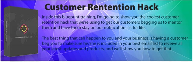 Customer-Retention-Hack-Blueprint-Training